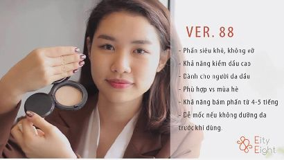 Review Phấn tươi Ver.88 - beBEAUTY TV
