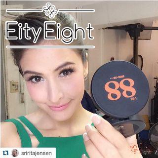 Review Phấn tươi Ver.88 - Diễn viên/siêu mẫu Thái Lan Sririta Jensen (RITA)